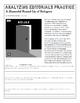 Analyzing Editorials Worksheet