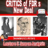 Great Depression - Analyzing FDR's New Deal Programs (Print and Digital)