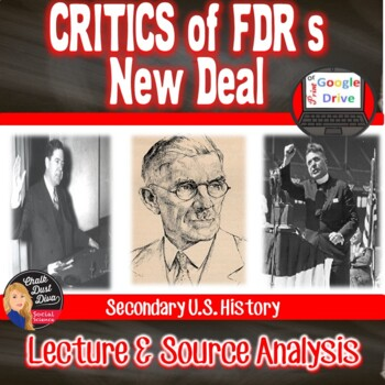 Great Depression - Analyzing FDR's New Deal Programs (Comm