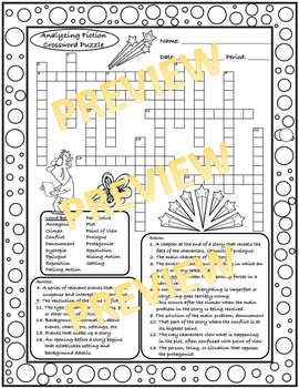 Analyzing Fiction Crosswords (with Doodles!)!