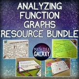Analyzing Functions Activity Bundle 8.F.B.5