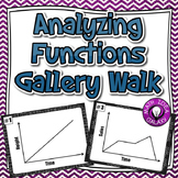 Analyzing Functions Activity - Gallery Walk 8.F.B.5