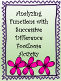 Analyzing Functions with Successive Difference Footloose Activity