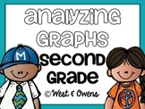 Analyzing Graphs: 1st & 2nd Grade {Common Core Aligned}