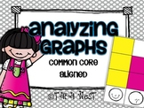 Analyzing Graphs {Common Core Aligned}