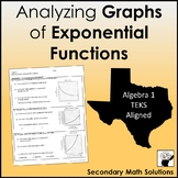 Analyzing Graphs of Exponential Functions (A9D)