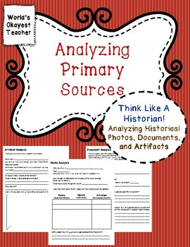 Analyzing Historical Photos, Documents, and Artifacts