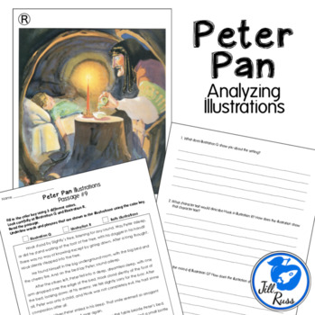 Analyzing Illustrations with Peter Pan RL.3.7