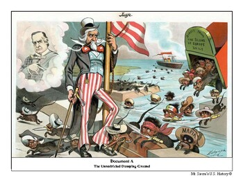 Analyzing Immigration through Political Cartoons