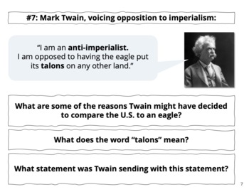Analyzing Imperialism: Carousel or Stations Activity