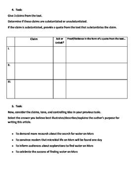 STEM ELA: Analyzing Informational Text