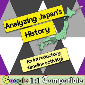 Analyzing Japan's History: An introductory time-lining act