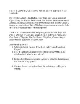 Analyzing Langston Hughes's Poem