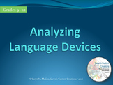 Analyzing Language Devices in Literature