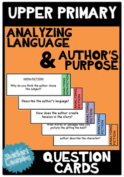 Analyzing Language and Author's Purpose for Upper Primary