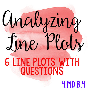 Analyzing Line Plots
