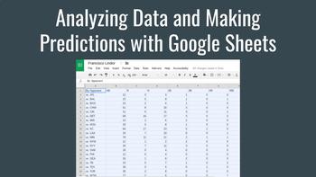 Analyzing MLB Data and Making Predictions with Google Sheets