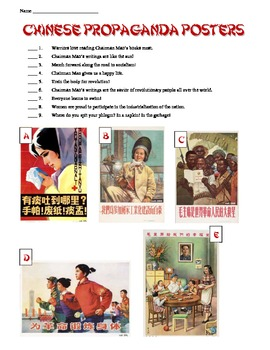 Analyzing Mao Zedong's Communist China Posters