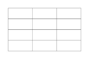 Analyzing Mood and Word Choice Chart