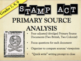 Analyzing Multiple Perspectives: Stamp Act Primary Source Lesson