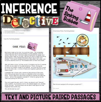 Inference Mystery-Analyze Texts to Cite and Support (Julius and the Sailboat)