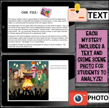 Making Inferences: Mystery Activity (Rock The Room)