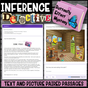 Inference Mystery-Analyze Multiple Texts to Cite and Support-Thanks To Butterfly
