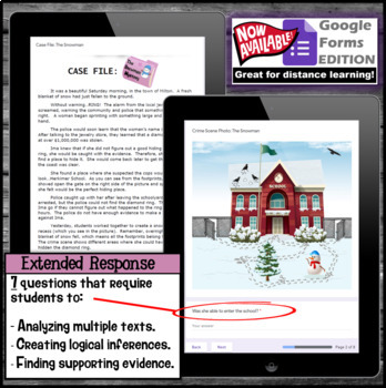 Inference Mystery-Analyze Multiple Texts to Cite and Support (The Snowman)