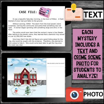 End Of Year Activity Inference Mystery (The Snowman Mystery)