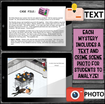 Inference Mystery-Analyze Multiple Texts to Cite and Support (Cutler's Kitchen)