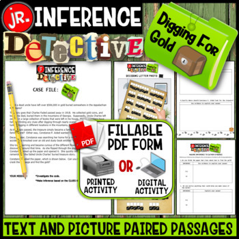 Making Inferences -Analyze Multiple Texts (Digging For Gold)