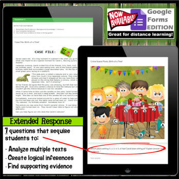 Inference Mystery-Analyze Multiple Texts to Cite and Support (Made In Japan)