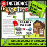 Making Inferences: Inference Detective jr. - Lemonade Booth Bandit