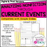 Analyzing Nonfiction Text Through Current Events + Digital