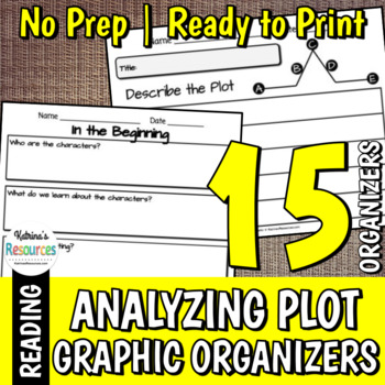 Analyzing Plot - Organizers for Elementary Guided Reading