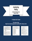 Analyzing Poetry - A Guide to Breaking Down Complex Poetry