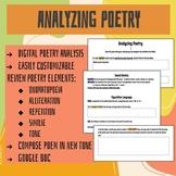 Analyzing Poetry Activities