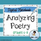 Analyzing Poetry Digital Reader's Notebook-Distance Learning
