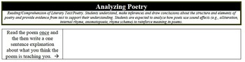 """Analyzing Poetry - """"Do It Now!"""""""