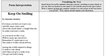 "Analyzing Poetry - ""Keep On Smiling"""
