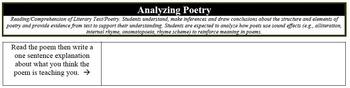 "Analyzing Poetry - ""Landing of the Pilgrims"""