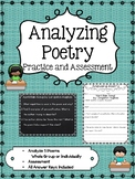 Analyzing Poetry Questions and Assessment