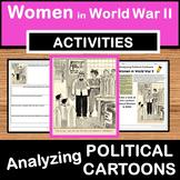 Women in World War II Political Cartoons