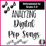 DIGITAL ANALYZING POP SONGS- DISTANCE LEARNING
