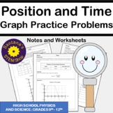 Analyzing Position Vs Time Graphs: Notes and Worksheets