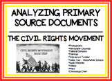 Analyzing Primary Source Documents - The Civil Rights Movement