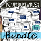 Analyzing Primary Sources Bundle (Print and Digital)