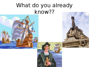 Analyzing Primary Sources- Christopher Columbus (PowerPoint)