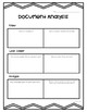 Analyzing Primary Sources- Graphic Organizers