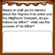 Analyzing Primary Sources: Mayflower Compact and Letter by Edward Winslow